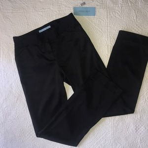 ❤️ Sleek & Silky Black Tuxedo Stripe Dress Pants
